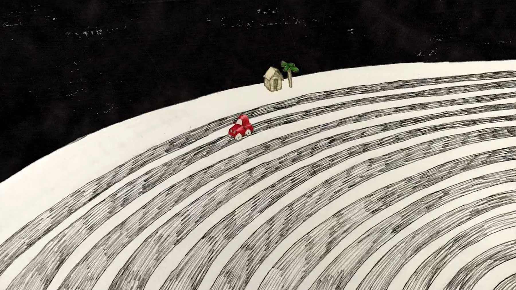 Das Leben ist eine Vinylscheibe roundabout-kurzfilm