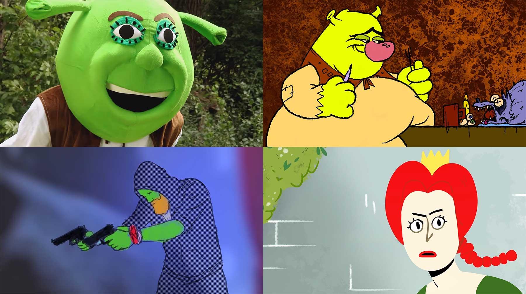 """Shrek Retold"": kompletter von Fans nachgemachter Film online shrek-retold-voller-fanfilm"