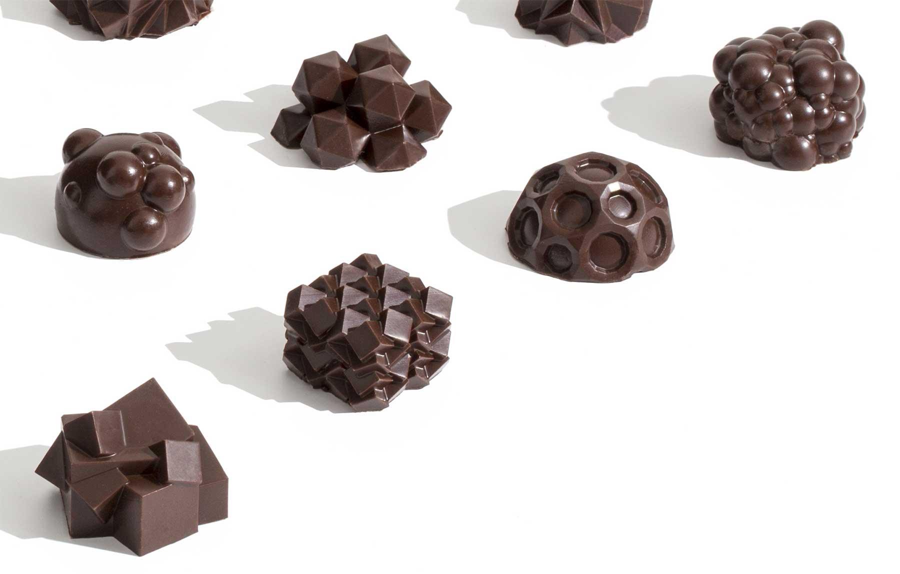 3D-gedruckte Schokoladen-Miniaturskulpturen 3d-gedruckte-schokolade-Ryan-L-Foote_07