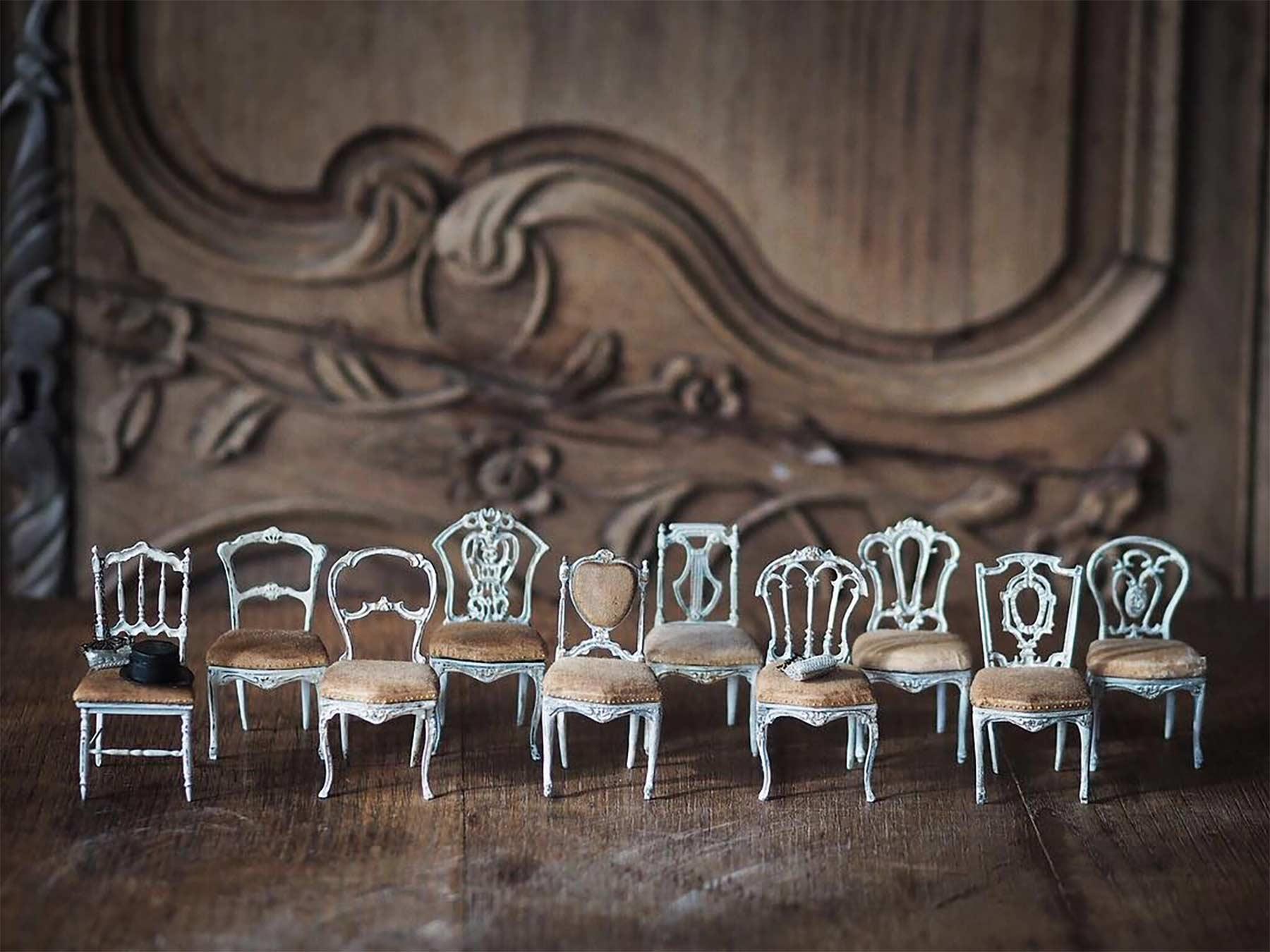 Detailreiche Miniatur-Skulpturen von Kiyomi Kiyomi-Miniatur_02