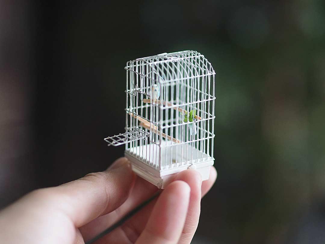 Detailreiche Miniatur-Skulpturen von Kiyomi Kiyomi-Miniatur_07