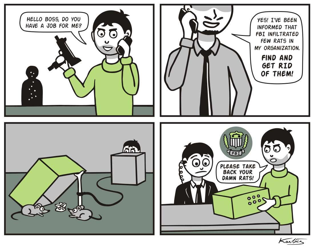 Webcomics über einen Gangster, der alles wörtlich nimmt Literal-Mobster-Jimmy_03