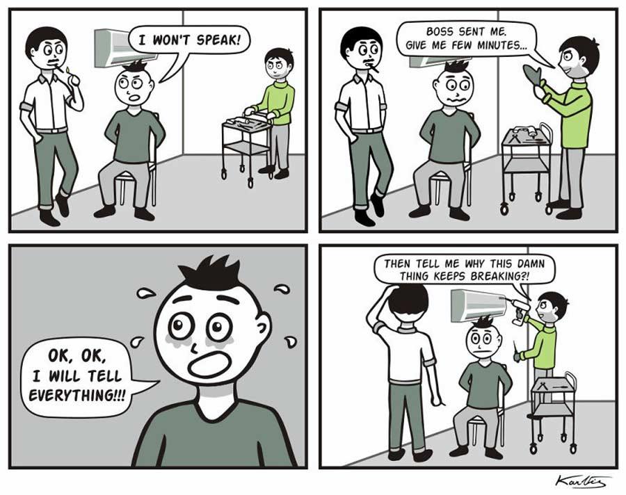 Webcomics über einen Gangster, der alles wörtlich nimmt Literal-Mobster-Jimmy_08