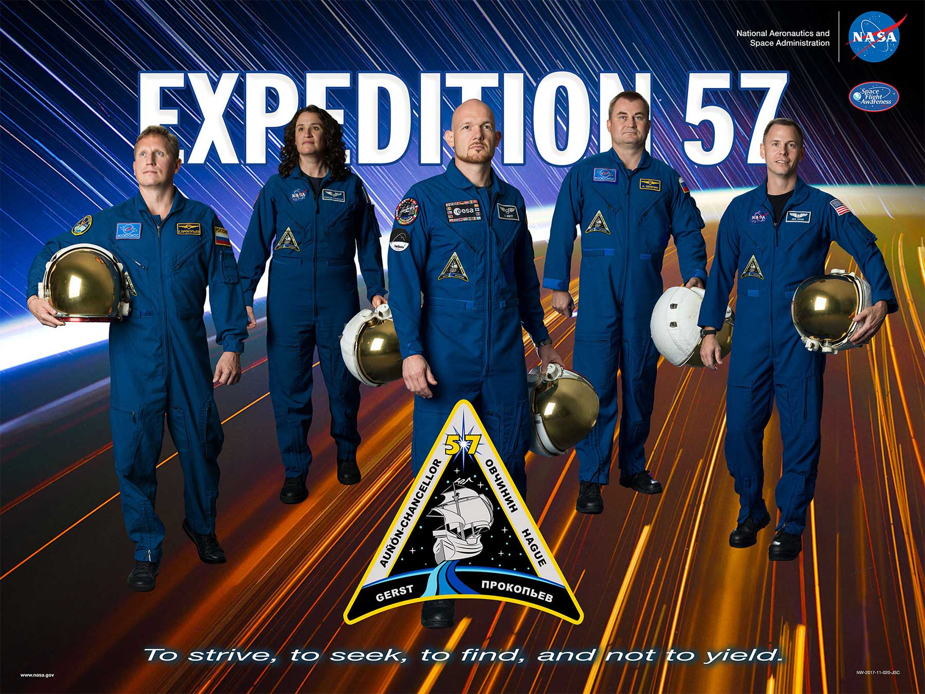 Die Expeditionsposter der NASA-Missionen stecken voller Popkultur NASA-Expeditionsposter_01