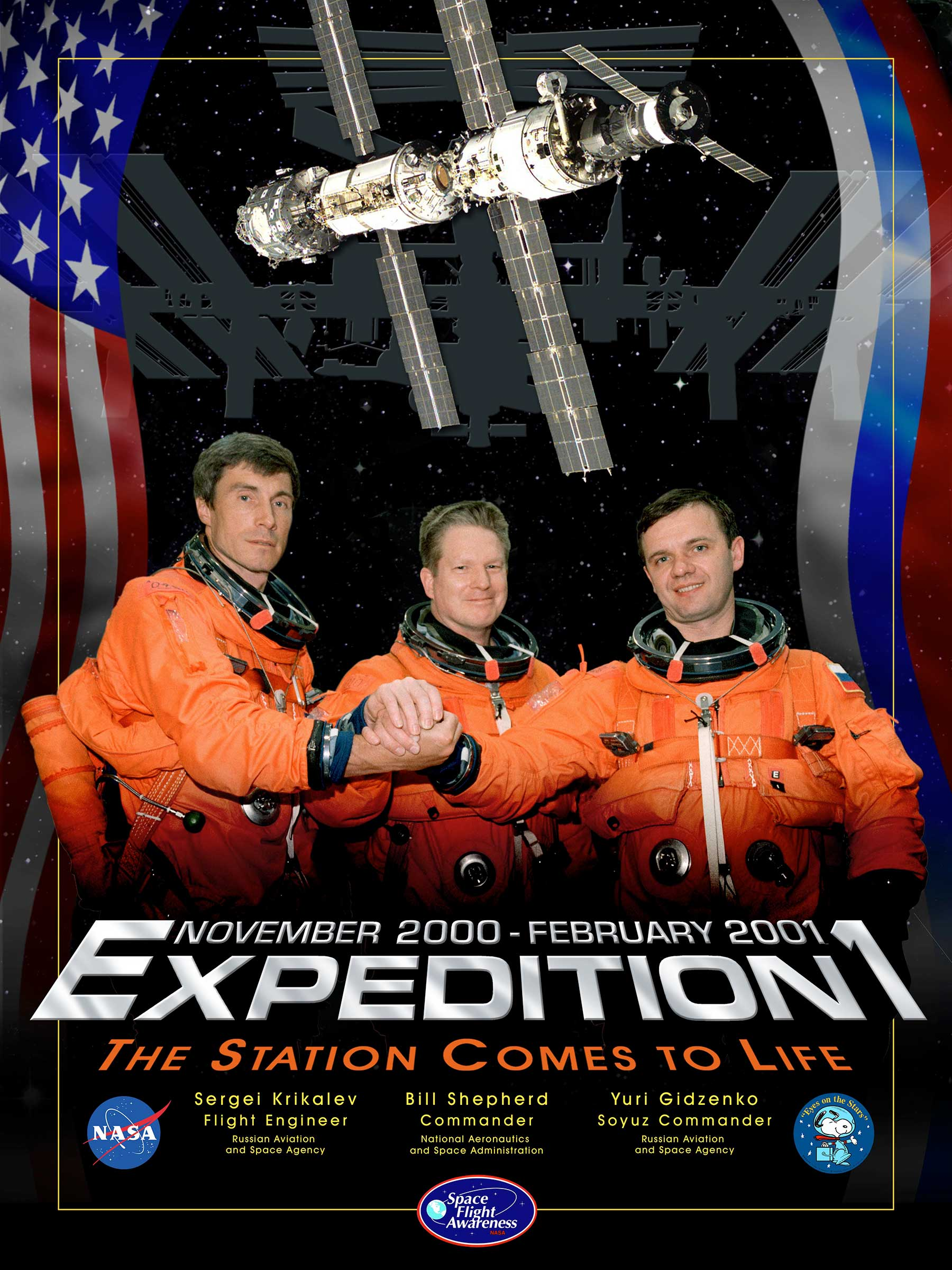Die Expeditionsposter der NASA-Missionen stecken voller Popkultur NASA-Expeditionsposter_02