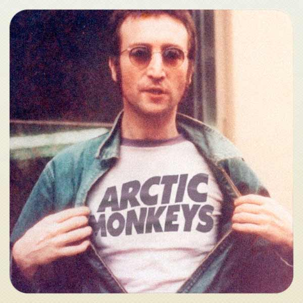 Alte Musik-Ikonen tragen Bandshirts moderner Acts Reversed-Music-Icons-Fandom_06