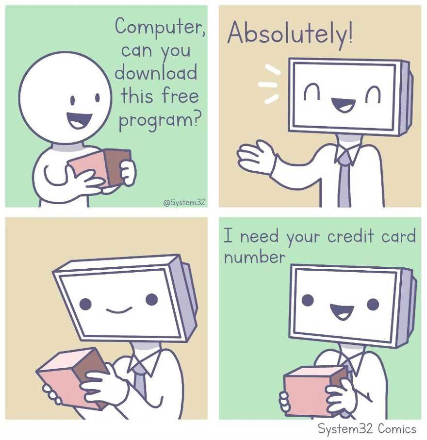 Wenn Computer Menschen wären System32Comics_02