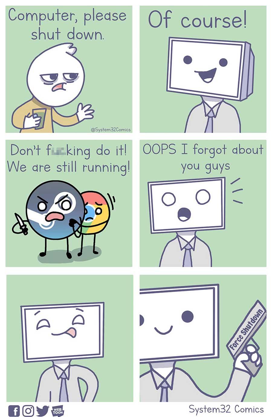 Wenn Computer Menschen wären System32Comics_05