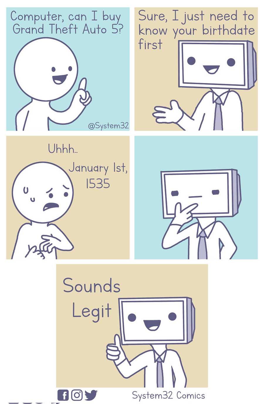 Wenn Computer Menschen wären System32Comics_07