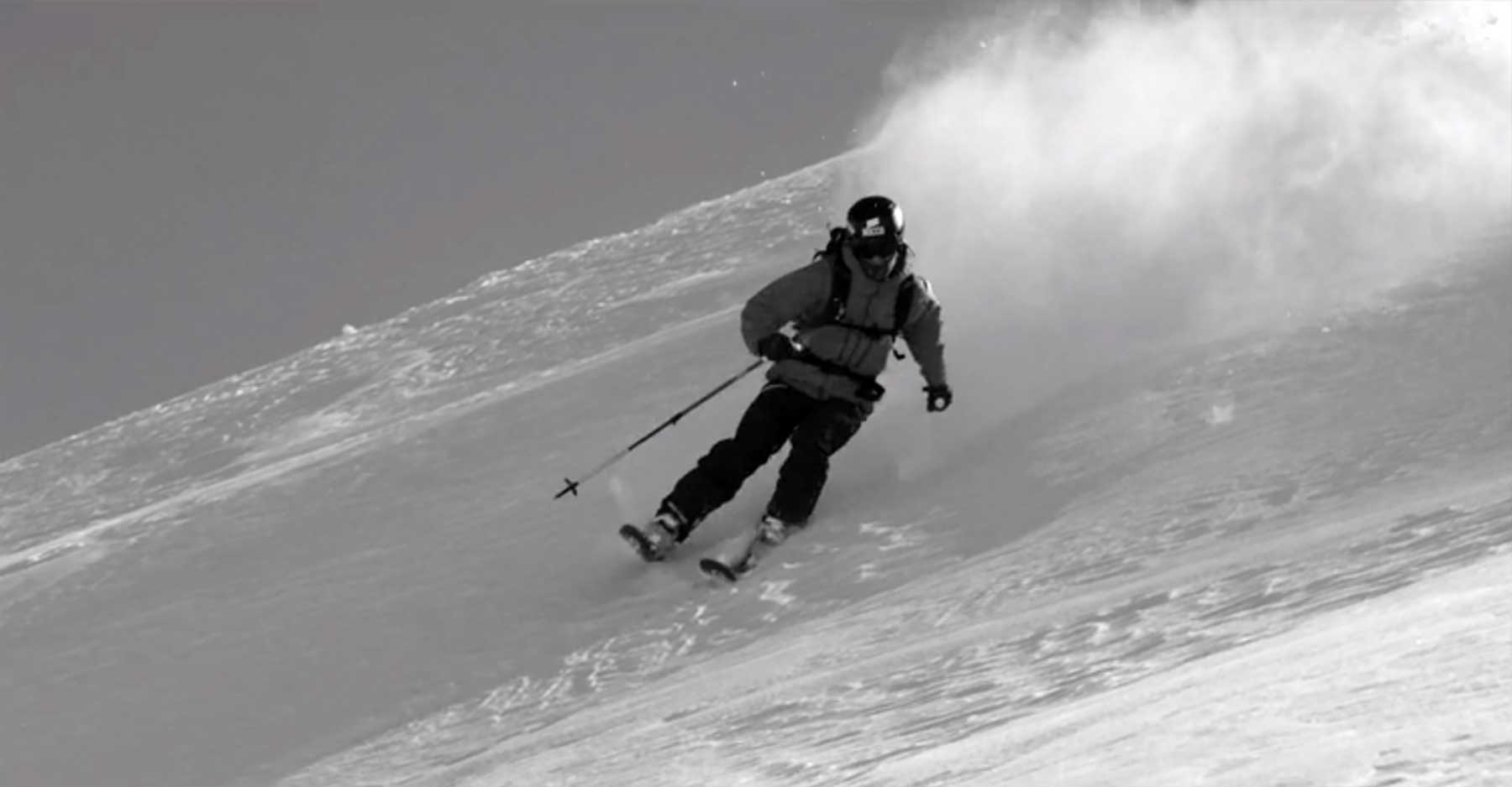Kunstvolles Videoportrait über Ski-Fotograf Oskar Enander