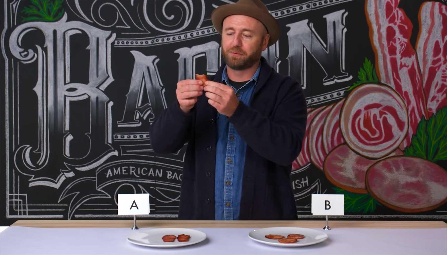 Experte erklärt, woran man guten Bacon erkennt bacon-test-experte