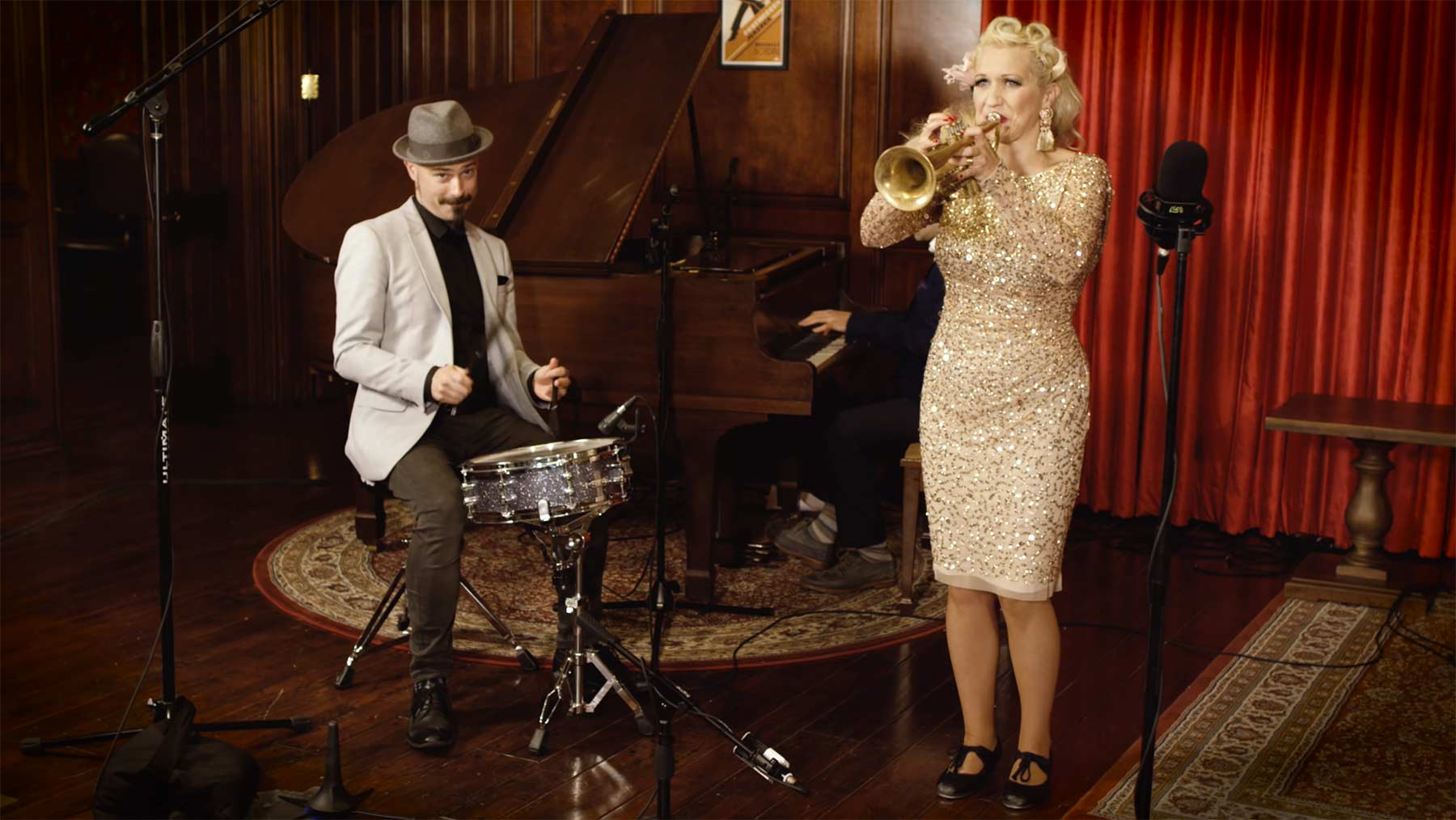 """Dancing Queen"" als 1920s Hot Jazz Cover"
