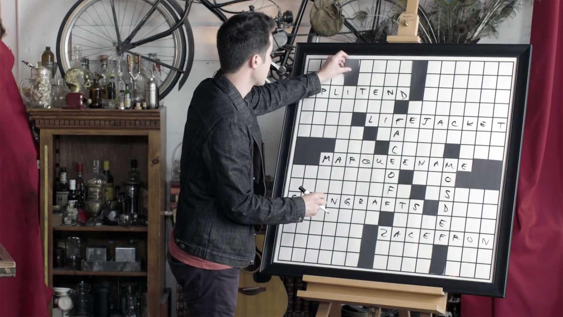So erstellt David Kwong Kreuzworträtsel für die New York Times