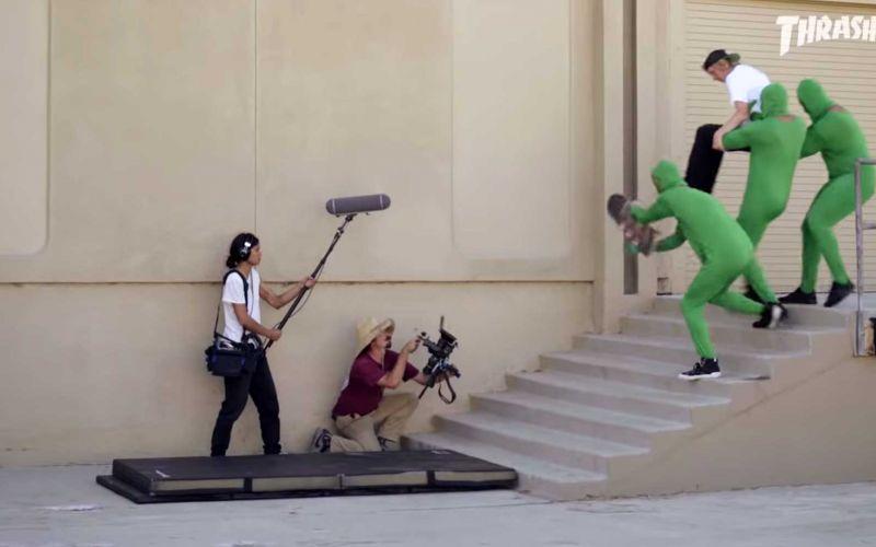 Parodie: So wird ein Skate-Video gedreht