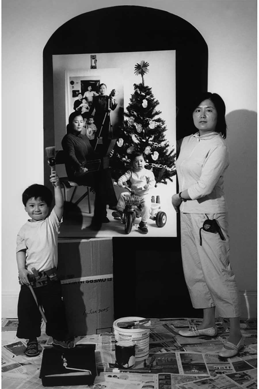 Mutter fügt 17 Jahre Bildebenen hinzu, die Sohn aufwachsen zeigen mutter-17-jahre-foto-in-foto_06