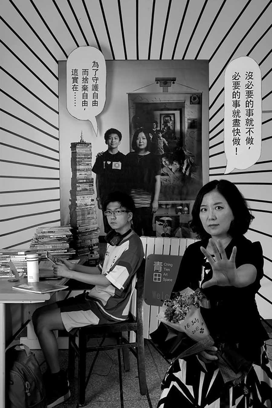 Mutter fügt 17 Jahre Bildebenen hinzu, die Sohn aufwachsen zeigen mutter-17-jahre-foto-in-foto_11