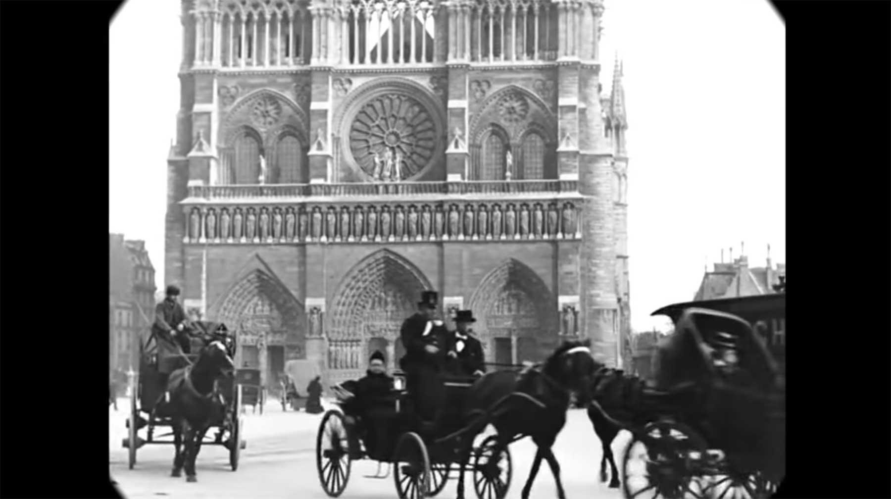 Video aus dem Paris der 1890er Jahre paris-1896-1900-video