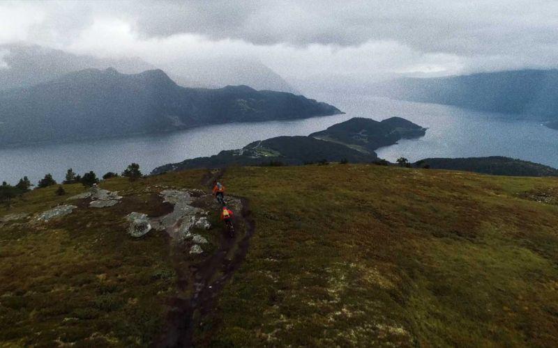 Auf dem Mountainbike durchs schöne Norwegen