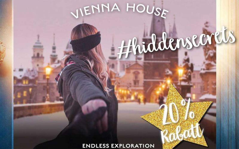 20% Rabatt und Gratisübernachtungen bei den Vienna House #hiddensecrets