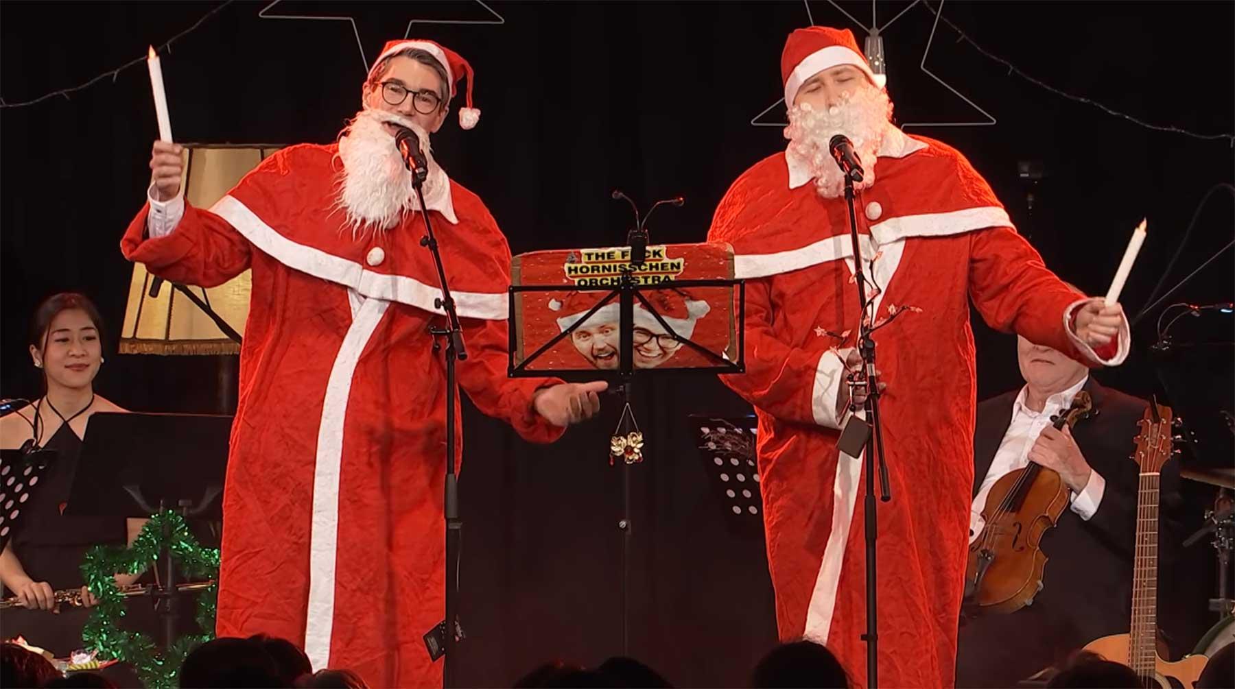 The Fuck Hornisschen Orchestra: Weihnachtsschmonzette 2018