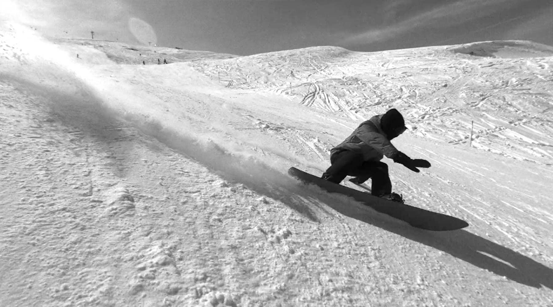 Snowboarding: Yearning for Turning I-VIII