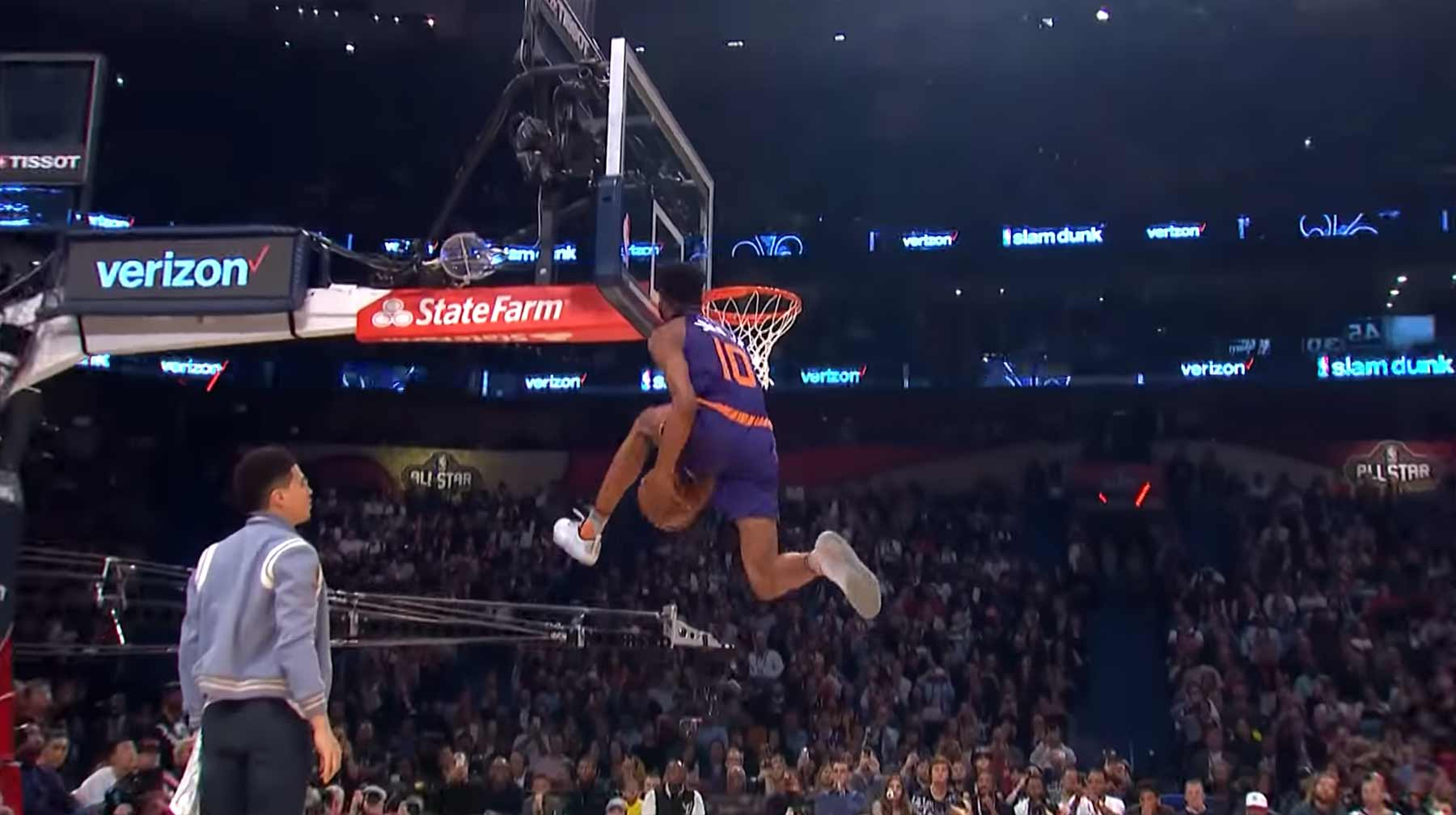 Alle perfekt bewerteten Dunks der NBA Slam Dunk Contests