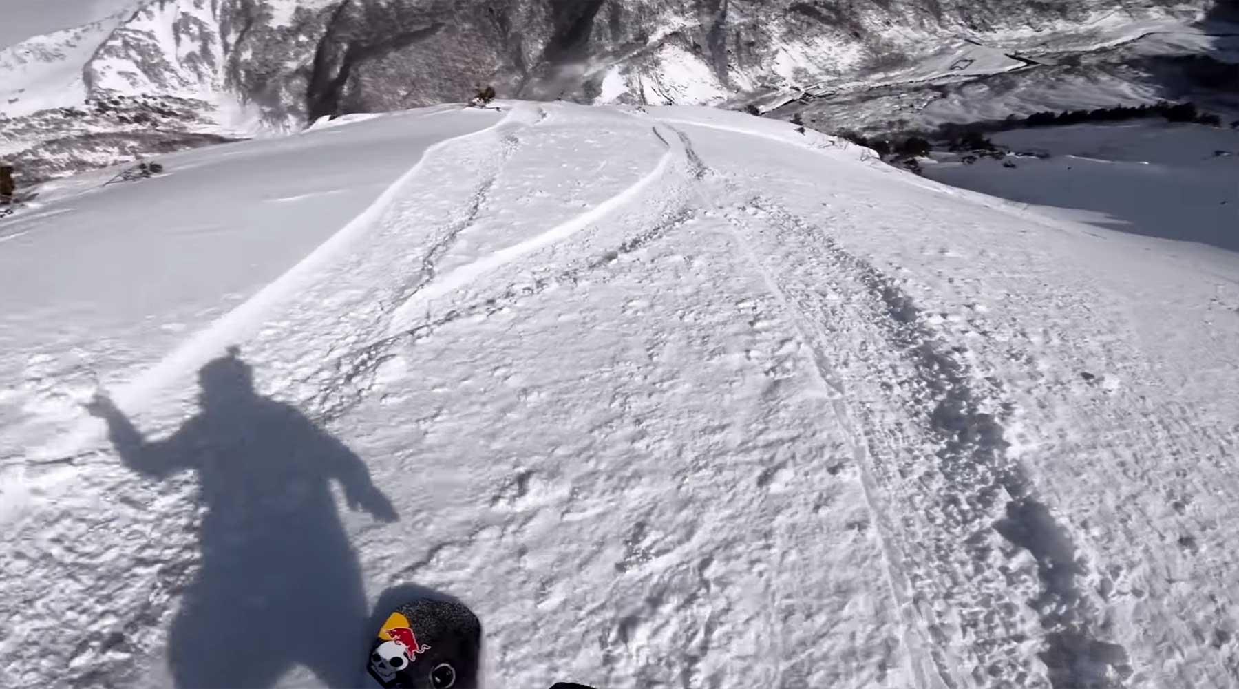 POV-Snowboard-Freeride mit Travis Rice GoPro-Travis-Rice-Winning-Run-Hakuba-Japan-FWT-2019