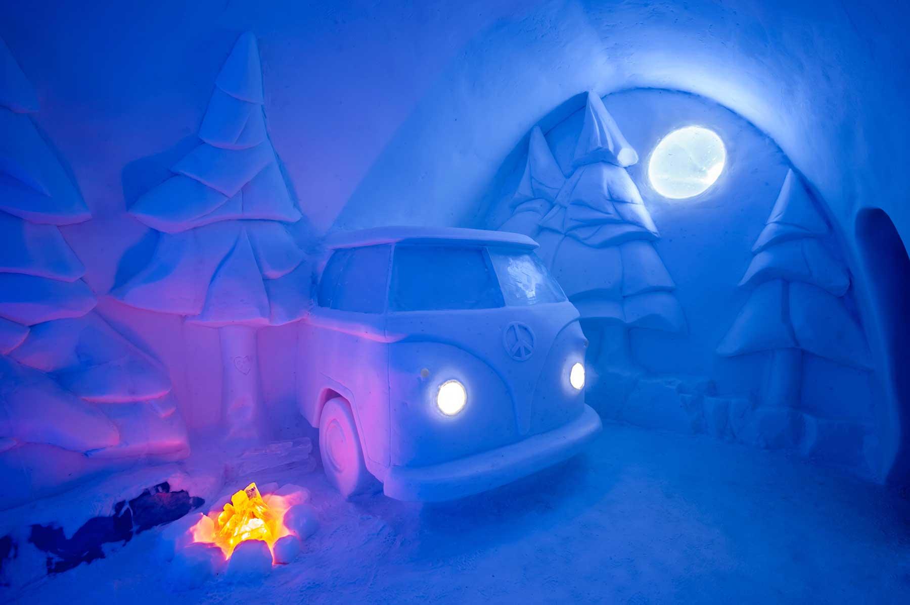 """Zum 29. Mal bietet das """"ICEHOTEL"""" coole Übernachtungen"""