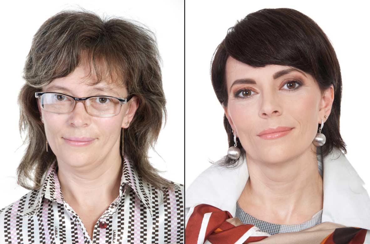 Makeovers von Stylist Konstantin Bogomolov