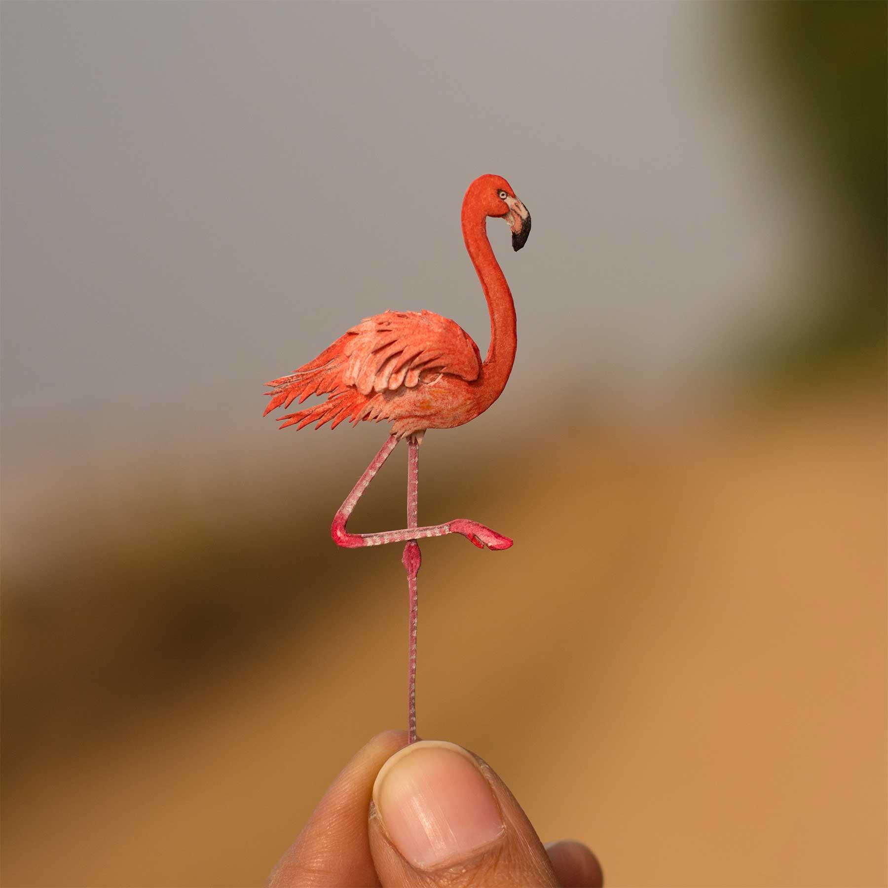 365 Papier-Vögel Nayan-and-Vaishali-miniature-birds-voegel_03