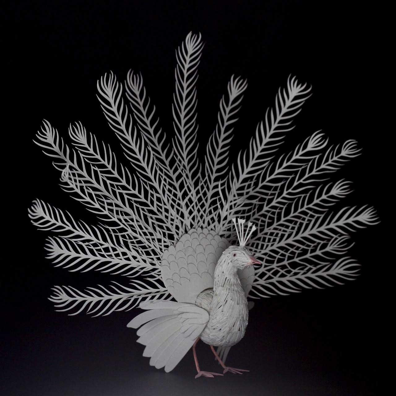 365 Papier-Vögel Nayan-and-Vaishali-miniature-birds-voegel_09