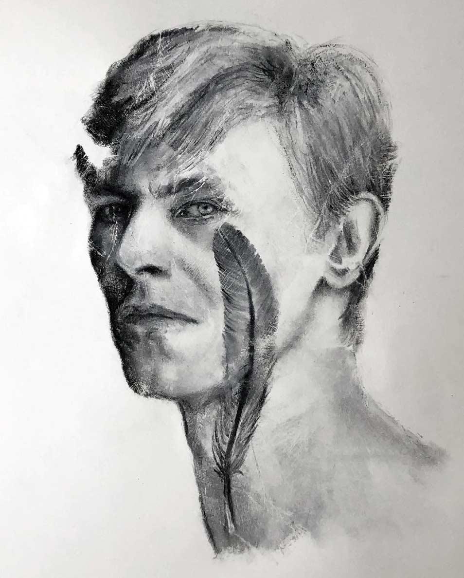 Russell Powell malt seine Hand an und stempelt damit Bilder Russell-Powell-hand-art_08