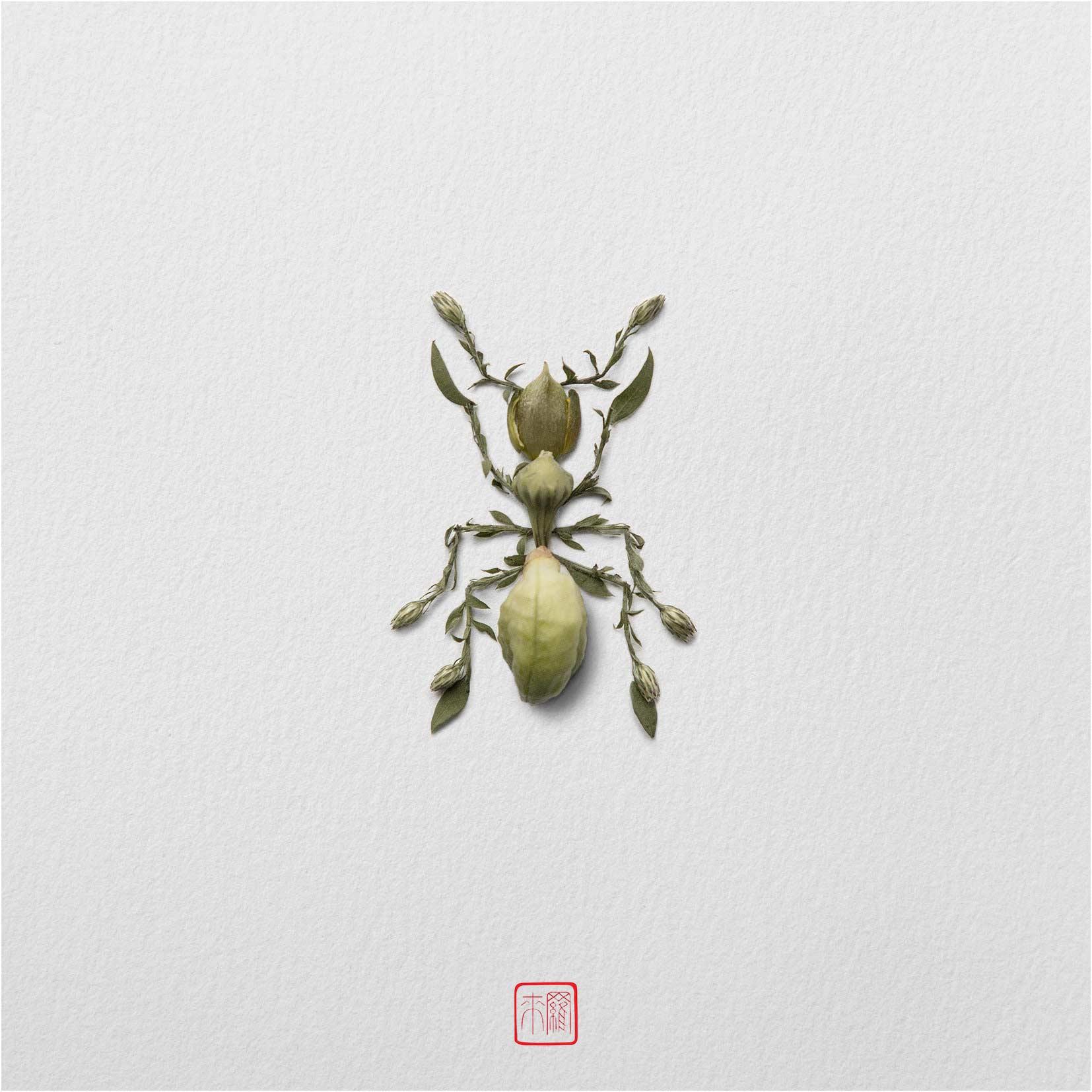 Tiere aus Blumenblüten Tiere-aus-blumenblueten-Raku-Inoue_10