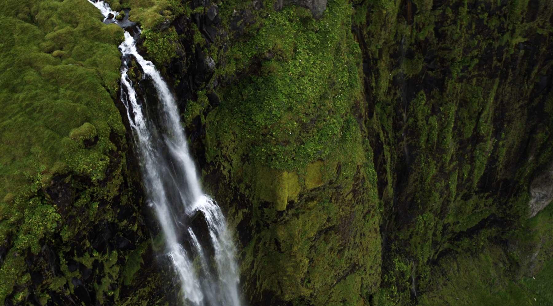 Luftaufnahmen aus Island