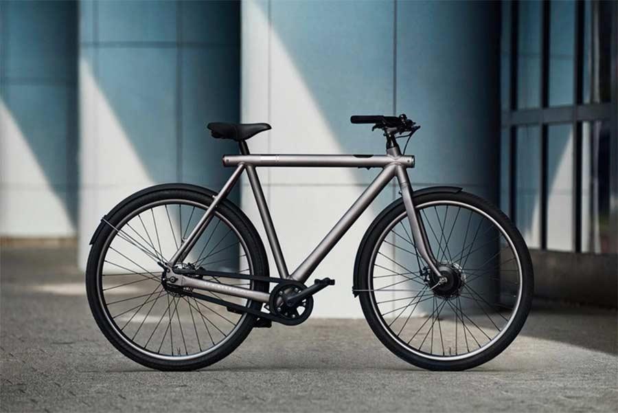 Auf Fahrrad-Pakete gedruckte Fernseher, um Transportschäden zu minimieren Vanmoof-bike-box-tv_04