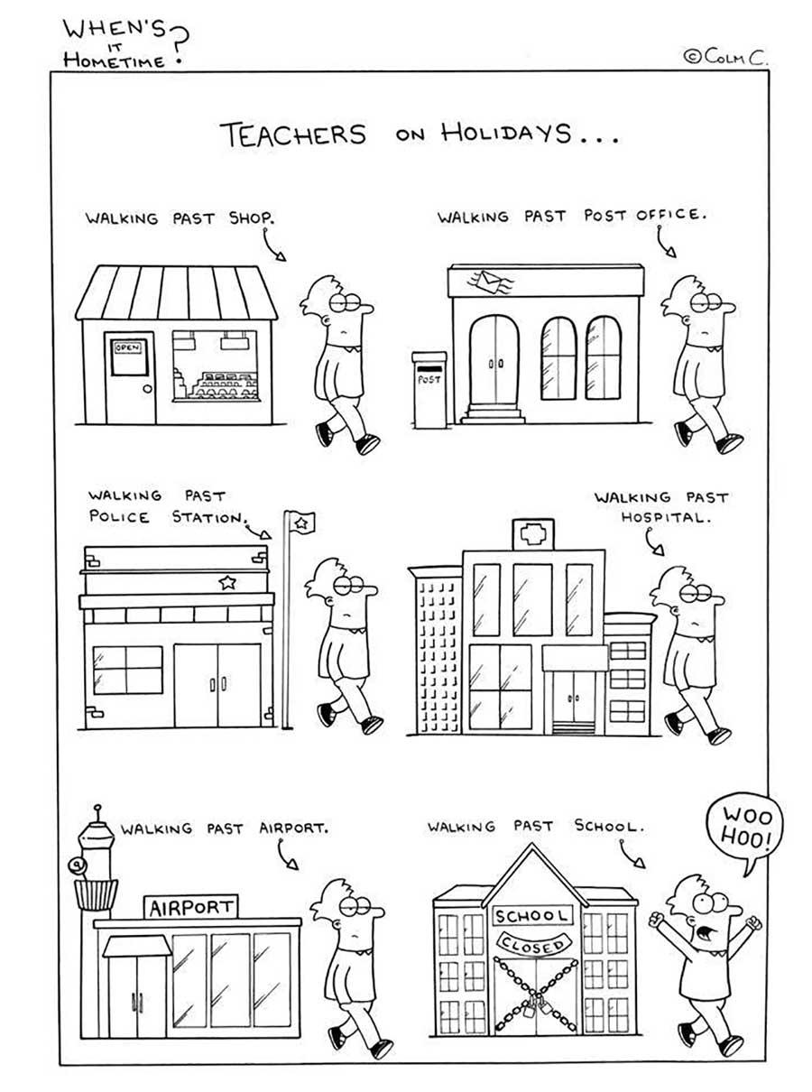 Webcomic über das Leben eines Grundschullehrers When-its-hometime-grundschullehrer-webcomics_03