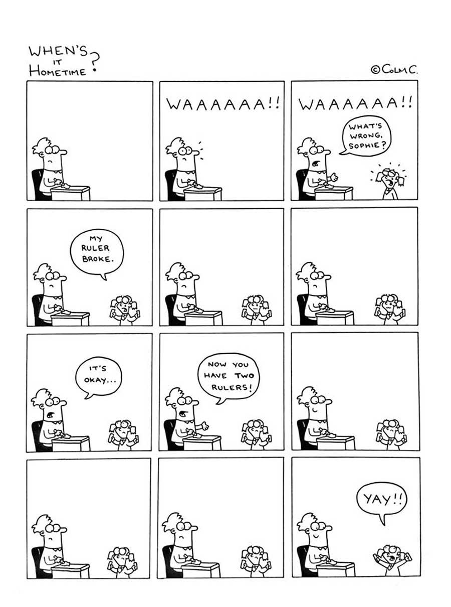 Webcomic über das Leben eines Grundschullehrers When-its-hometime-grundschullehrer-webcomics_06