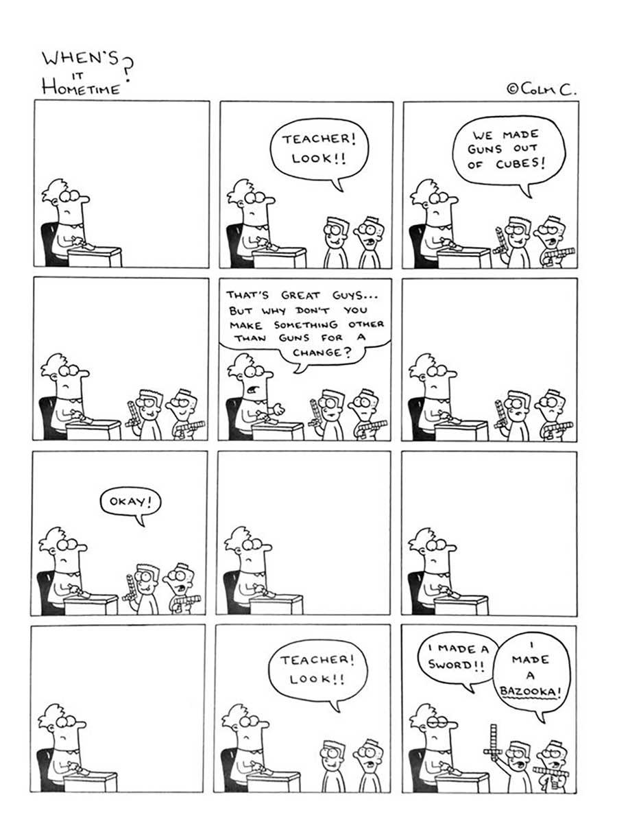 Webcomic über das Leben eines Grundschullehrers When-its-hometime-grundschullehrer-webcomics_07