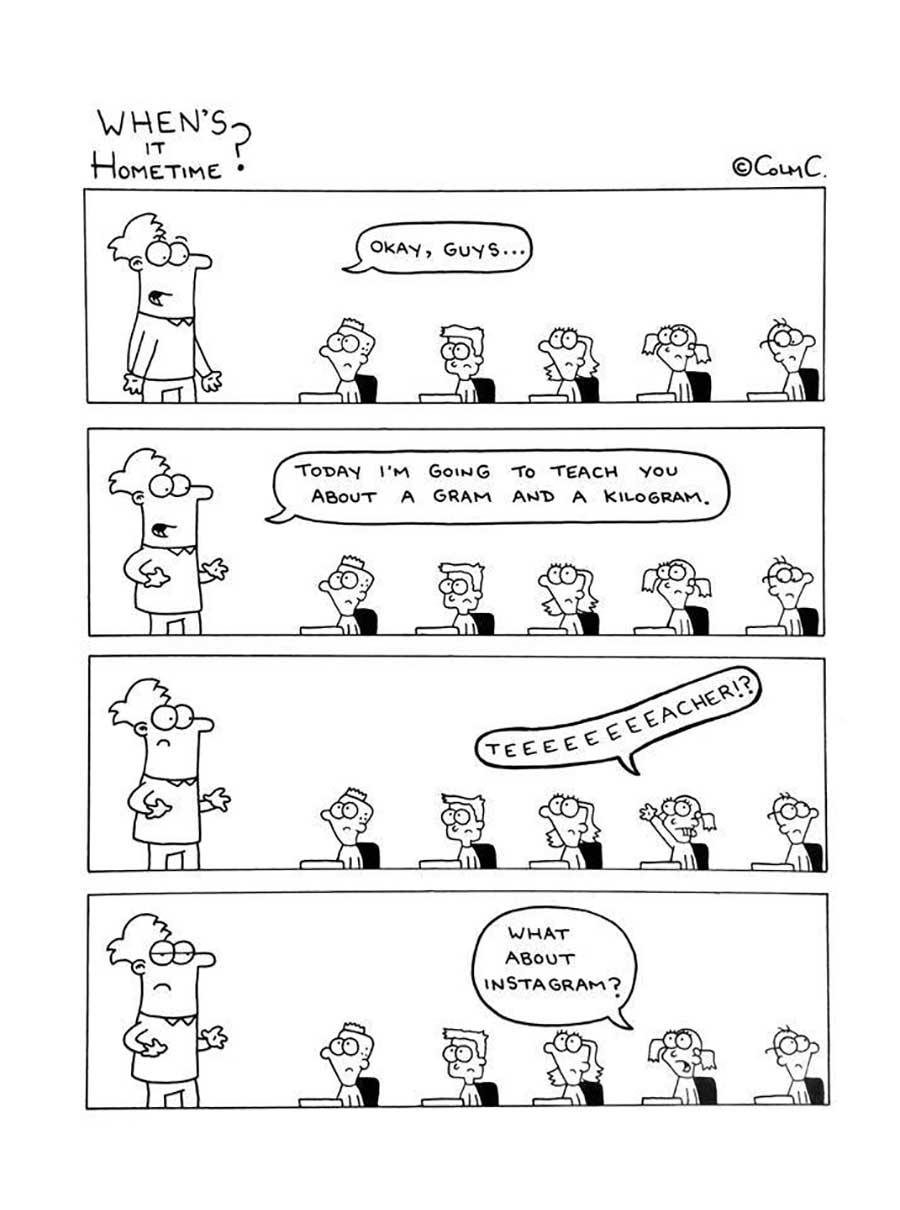 Webcomic über das Leben eines Grundschullehrers When-its-hometime-grundschullehrer-webcomics_10