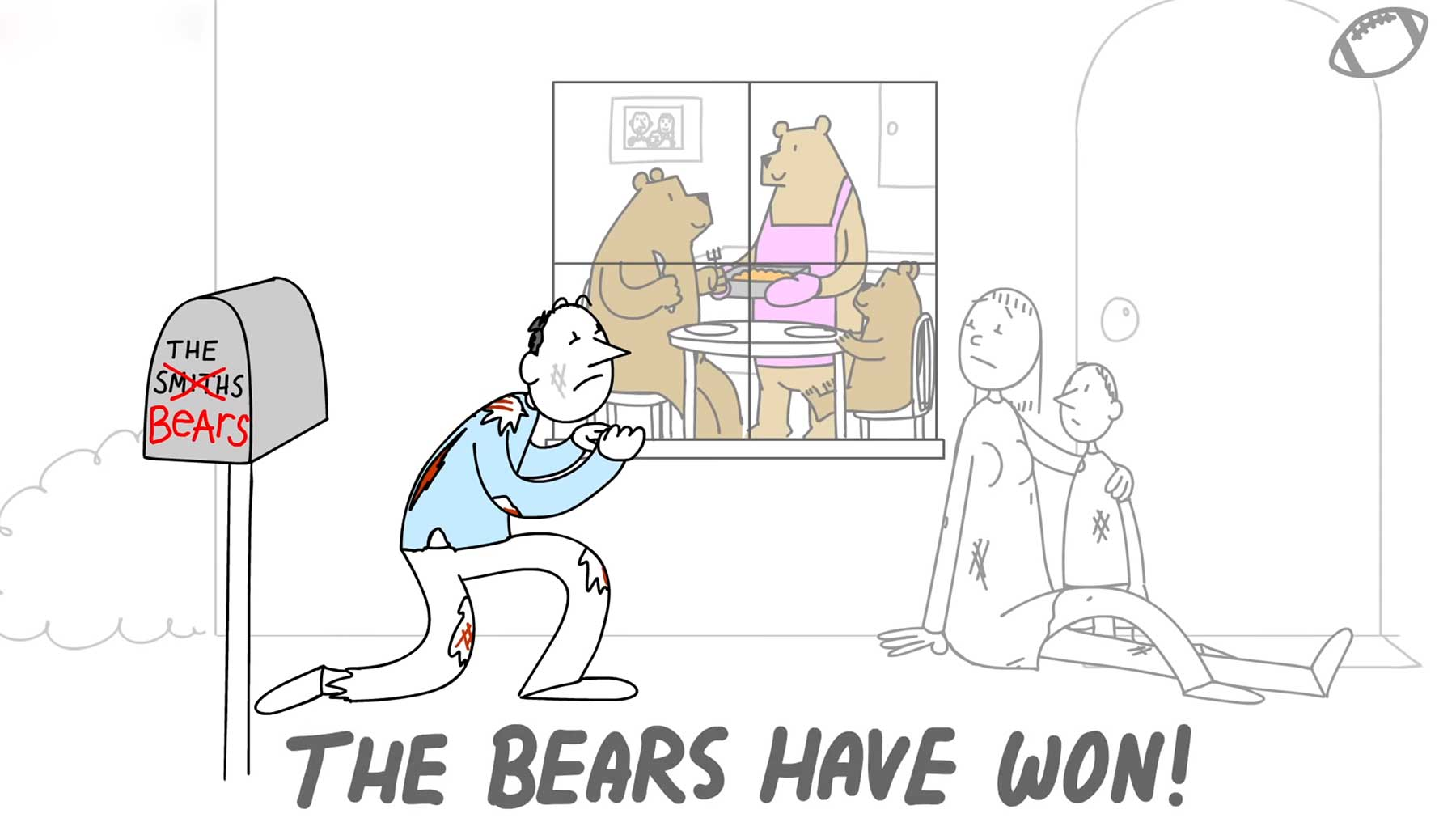 Animierter American Football-Kommentar footballkommentar-animiert