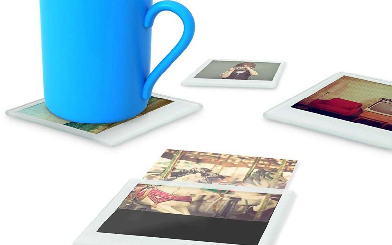 Polaroid-Untersetzer