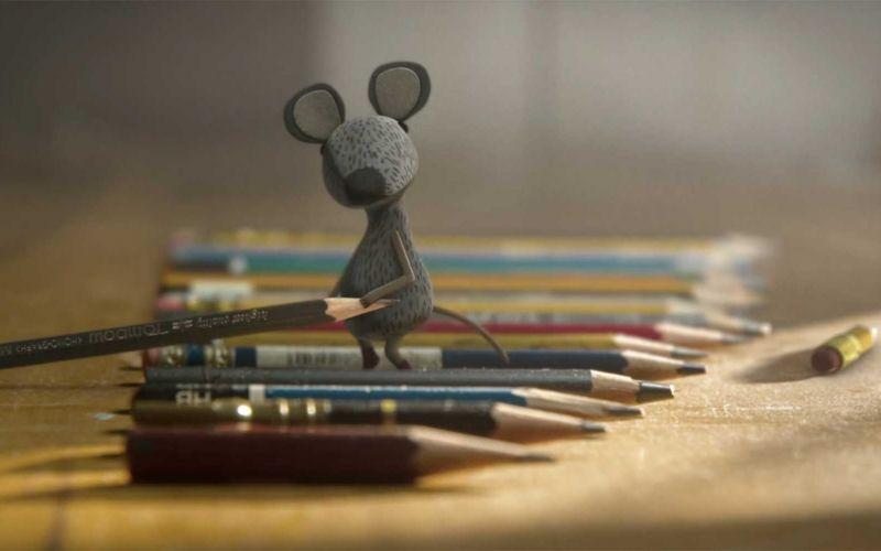 Diese Maus räumt das Haus auf