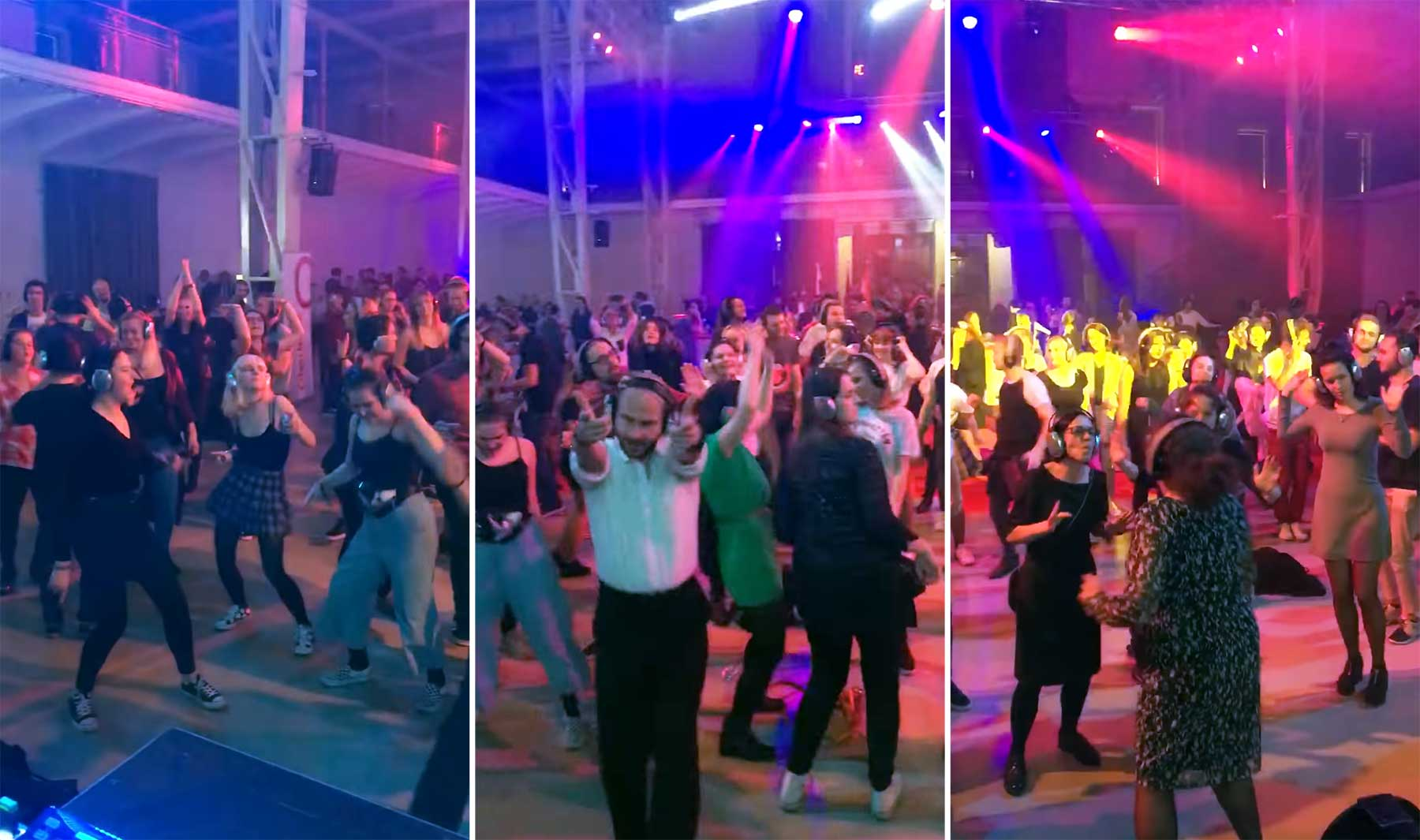 So skurril klingen Silent Discos für Außenstehende silent-disco-party