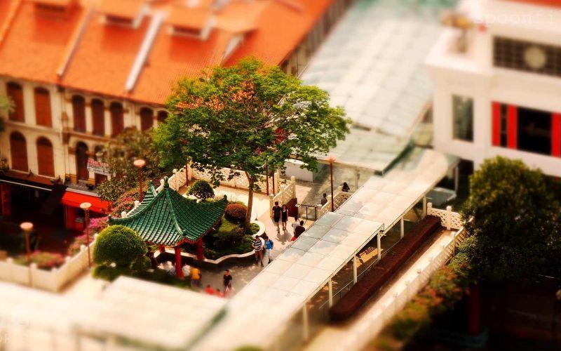Tilt-Shift: Simply Singapore
