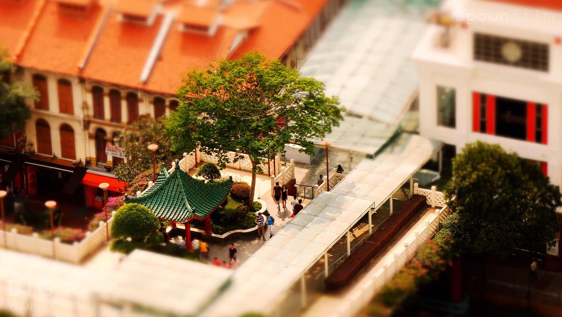 Tilt-Shift: Simply Singapore