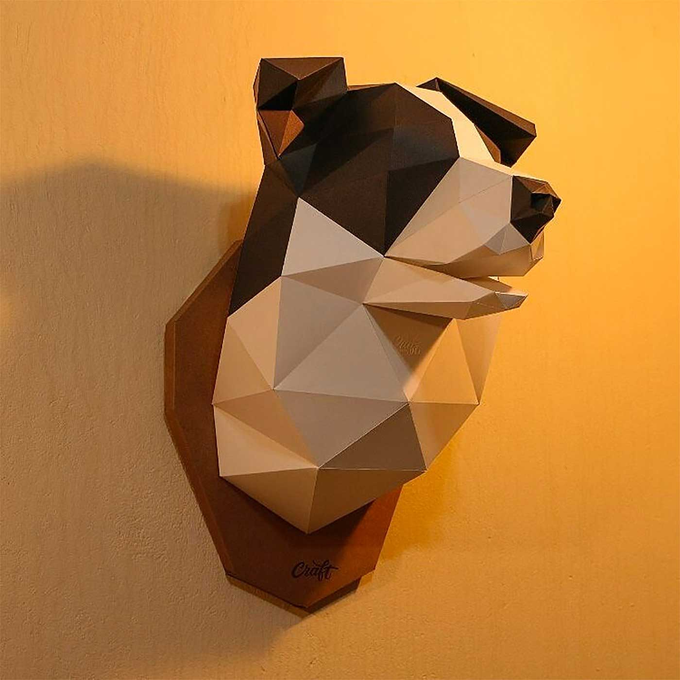 Polygone Papier-Skulpturen von Studio Craft studio-craft-papier-low-poly_10