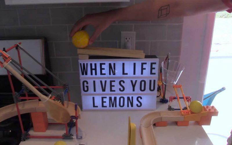 Geniale Kettenreaktion: The Lemonade Machine