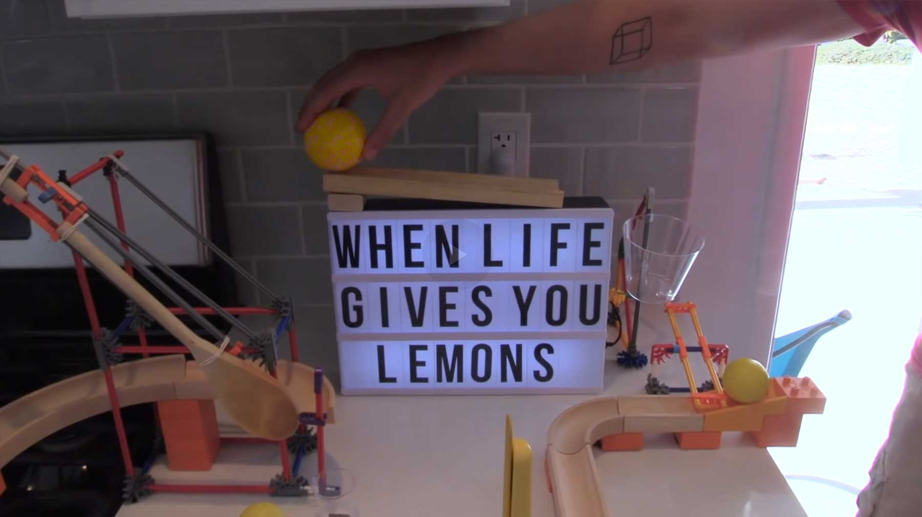 Geniale Kettenreaktion: The Lemonade Machine