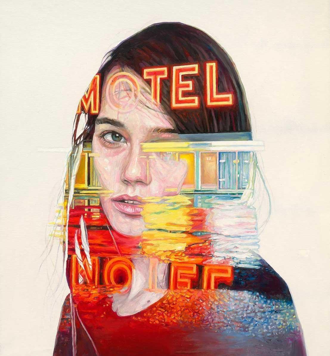 Malerei: Cristian Blanxer
