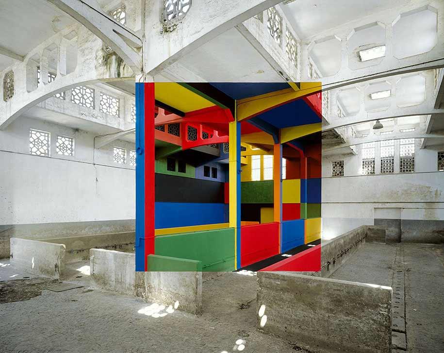 Perspektivische Kunst von Georges Rousse Georges-Rousse-2019_01